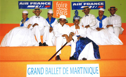 Le Grand Ballet de Martinique à la foire de Paris
